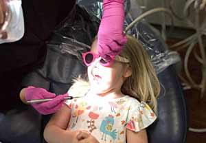 Child dental patient in Apex NC dentist