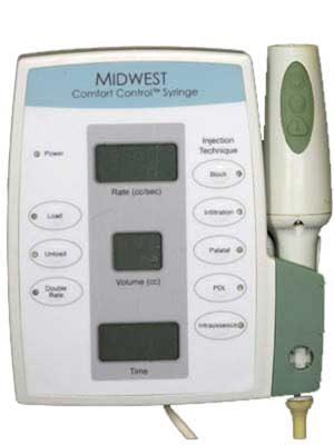 Comfort Control Syringe Machine