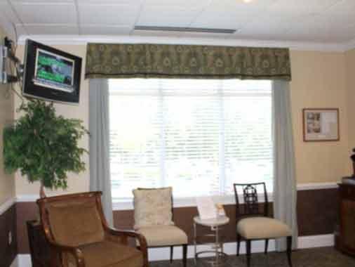 Waiting Room at Apex Dental Group